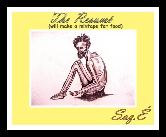 The resumé cover